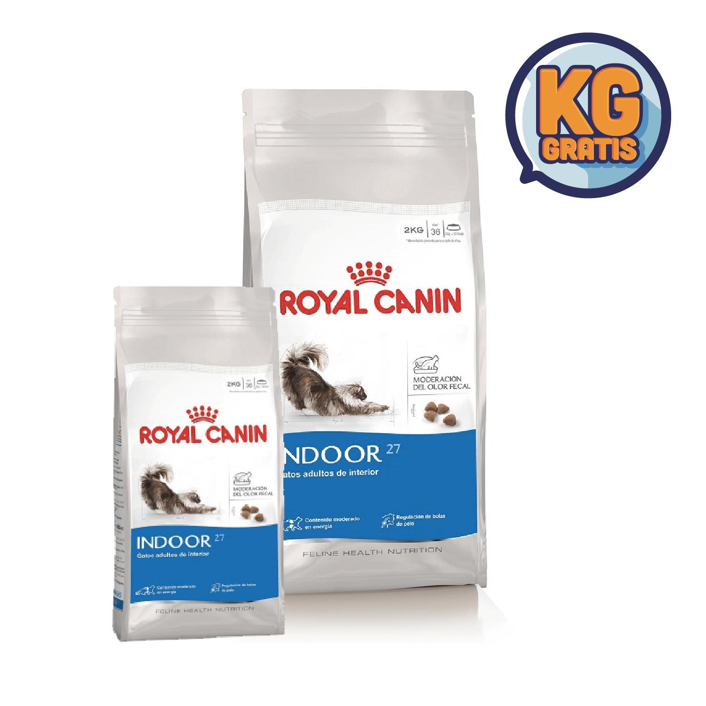 Royal Canin Indoor 27 7.5 Kg + 1,5 Kg Gratis