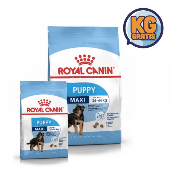 Royal Canin Maxi Puppy 15 Kg + 3 Kg Gratis