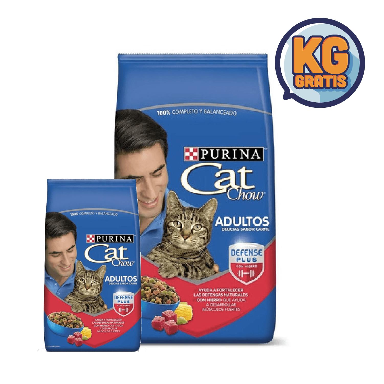 Cat Chow Adulto Carne 15 Kg + 3 Kg Gratis