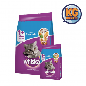 Whiskas Pescado 10 Kg + 1 Kg Gratis
