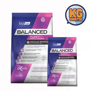 VitalCan Balanced Cachorro Raza Mediana 20 kg + 3 Kg Gratis