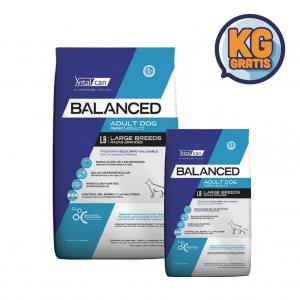 VitalCan Balanced Adulto Raza Grande 20 kg + 3 Kg Gratis