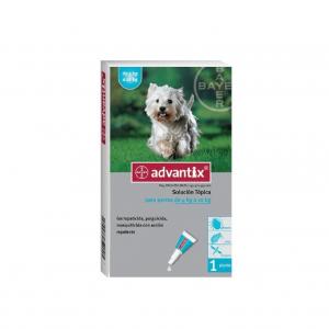 Advantix Pipeta Para Perros - 4 a 10Kg
