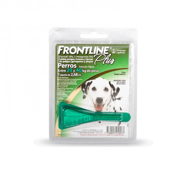 FRONTLINE Plus (1Pipeta) - 20-40Kg