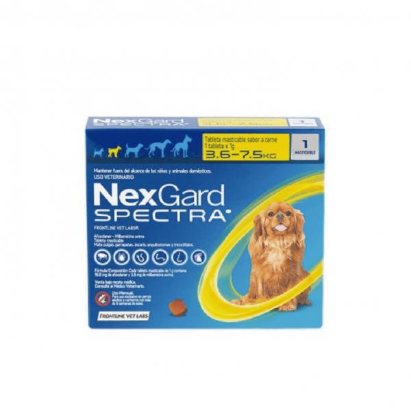 SPECTRA NEXGARD 3.6 a 7.5 AMAR