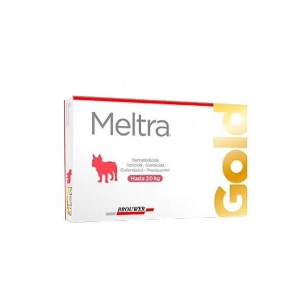 ANTIPARASITARIO MELTRA GOLD 20 KG X 2 COMP.