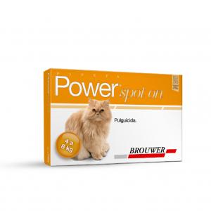 Pipeta Power Met Antipulgas Para Gatos - 4 a 8 Kg