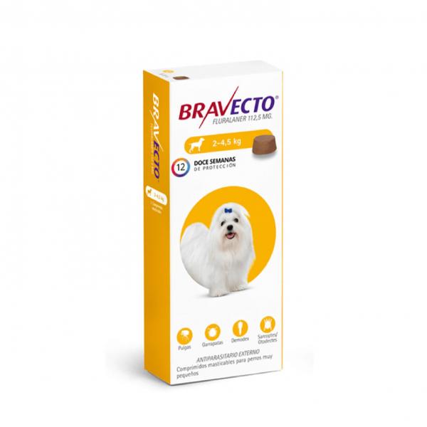 BRAVECTO 02a4.5 KG 112. 5 mg ama