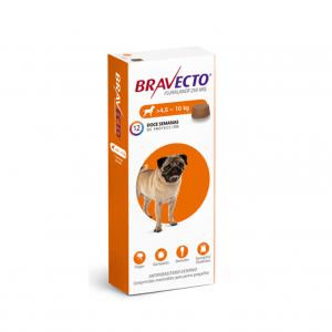 BRAVECTO 04a10 KG 250 mg naranja